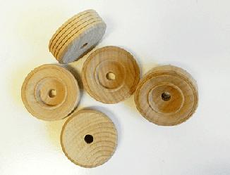 Buy Treaded Wood Toy Wheels | Bear Woods Supply
