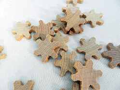 Wooden Snowflakes | Bear Woods Supply