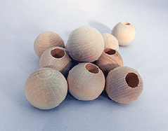 Wooden Dowel Caps 1 inch | Bear Woods Supply