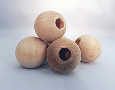 Wooden Dowel Caps 1-1/2 inch | Bear Woods Supply