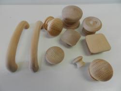 Wooden Knob Drawer Pulls