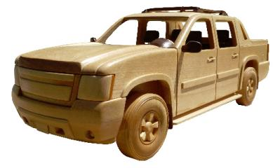 Wooden Truck Model Patterns Avalanche, Suburban | Bear Woods Supply