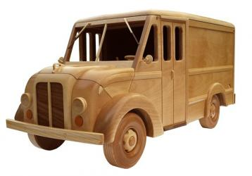 build wooden models, milk truck pattern | Bear Woods Supply