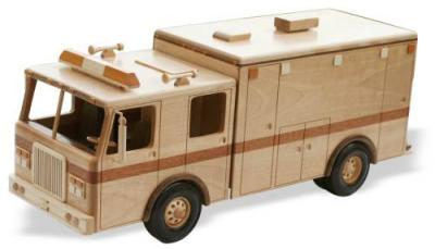 Heavy Duty Ambulance Woodworking Pattern | Bear Woods Supply