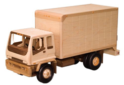 Delivery Truck Woodworking Pattern | Bear Woods Supply
