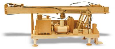 Water Well Drill Rig Woodworking Toy Pattern | Bear Woods Supply