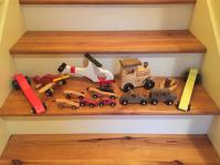 Bear Woods Gives Wooden Toy Wheels Windell Manuel