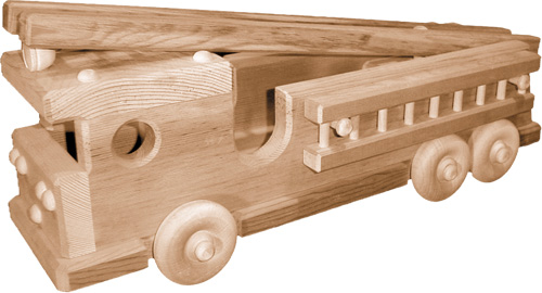 Wooden Toy Truck Plans : Toy truck: free wood toy truck plans