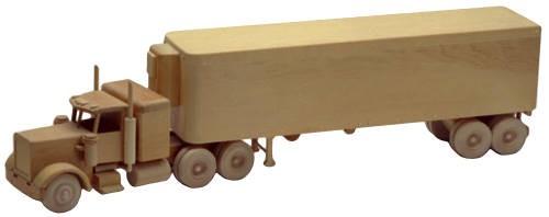 Plan Toys Train Joys : The big rig inch woodworking plan