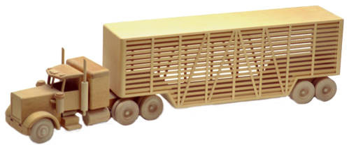The Livestock Truck 39in. (Woodworking Plan)
