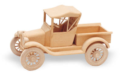 1919 Model T Ford 'Runabout' 12inch (Woodworking Plan)