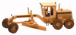 Road Grader Woodworking Plan from Toys and Joys