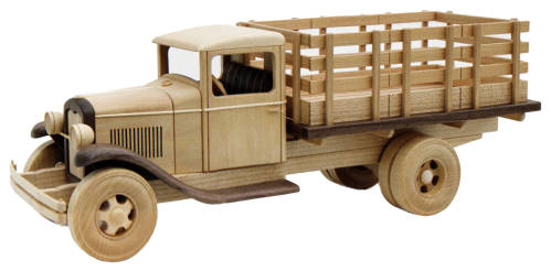 1929 Ford Stake Bed 19inch (Woodworking Plan)