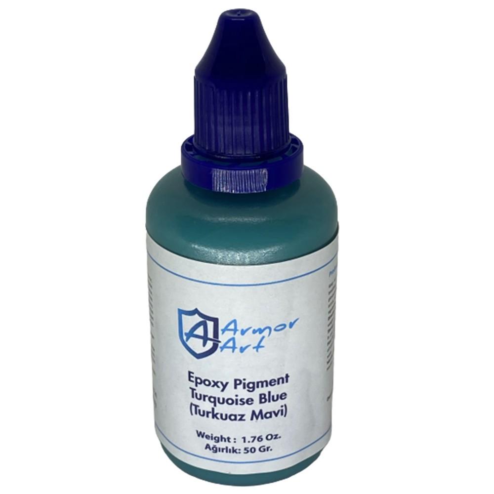 Turquoise Blue Epoxy Pigment