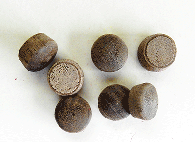 Buy round head wood plugs in Birch, Maple Oak | Bear Woods Canada