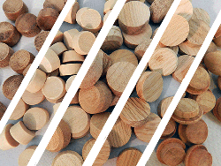Buy hardwood screwhole plugs, wholesale | Bear Woods Supply