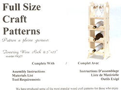 Craft patterns for wood workers | Bear Woods Supply