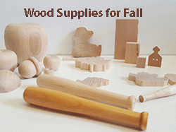 Wood craft supplies for fall | Bear Woods Supply