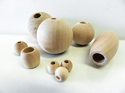 Buy Wooden Beads. Round, Oval and Barrel Wood Beads | Bear Woods Supply