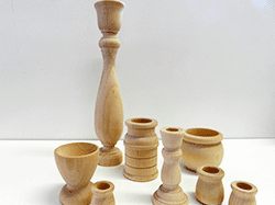 Shop online for wood candle sticks, wooden candle cups | Bear Woods Supply