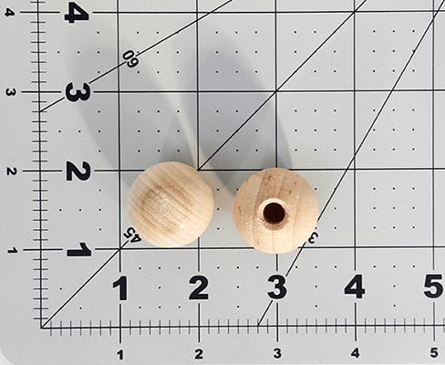 Wood 1 Dowel Cap For 14 Dowel Per 25