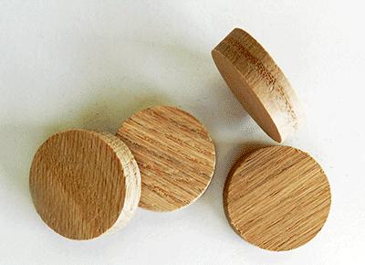 Buy Wood side Grain Stair-Oak Wood Plugs | Bear Woods Supply