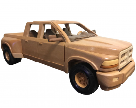 Patterns to make dually pickup trucks woodworking